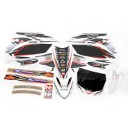 Комплект наклеек, оракал, графика N-Style YZ250F 10-12