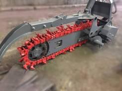 Новый траншеекопатель на минипогрузчик Люконг от производителя