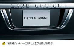 Накладка Задней Двери Toyota LAND Cruiser 200 202 2016+ PZ125-60002
