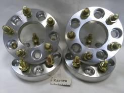 Проставки колесные ступичные на колёса диски 5х114.3 (25мм) 4 шт
