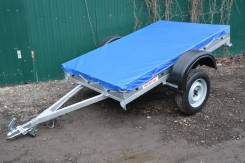 Прицеп грузовой «Фермер» 2,0х1,3 тент крышка