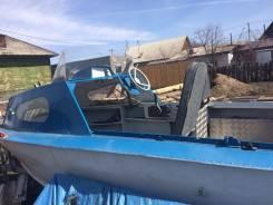 Продам лодку Прогресс-2 с мотором Ямаха 40 л. с. виндуро