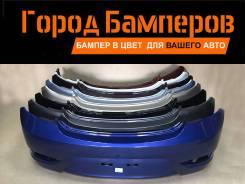 Новый задний бампер в цвет Hyundai Solaris 11-14 866114R200