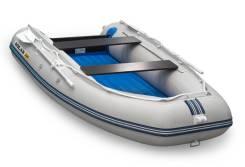 Лодка Солар Максима 350 серо- белая