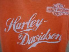 Байкерская женская майка Harley Davidson, р. S(42/44), оригинал и США