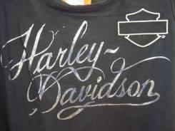 Байкерская женская майка Harley Davidson, р. XL(50), оригинал из США