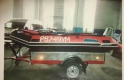 "Продам моторную лодку ""Mercury Heave DUTY-380"", мотор Suzuri 30 л. с."