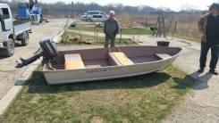 Продам моторную лодку с двигателем Ямаха 5