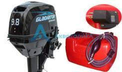 Лодочный мотор Gladiator (Гладиатор) G9.8FHS Новый! Доставка!