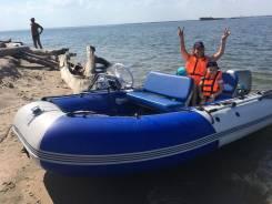 ПВХ Лодка+Дистанция+Хонда BF25