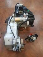 Новый Двигатель + карб. 6gy (157qmj 152qmi) 125cc