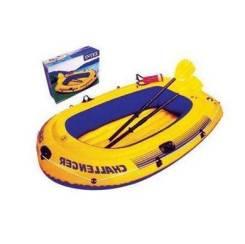 Лодка надувная Challenger 1 (до 100кг) Intex 68365