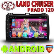 Автомагнитола Toyota Land Cruiser Prado 120. Android 10(1GB+16GB).