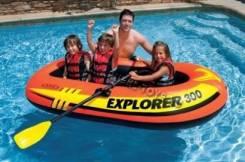 Надувная лодка Explorer 300 Set Intex 58332
