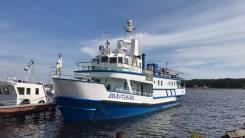 Прогулочное судно ледового класса