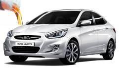 Стекло лобовое. Hyundai Solaris
