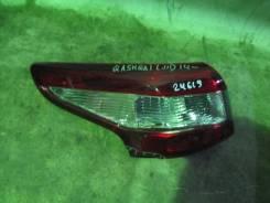 Фонарь задний наружный левый Nissan Qashqai (J11) 2014> (265554EA0A)