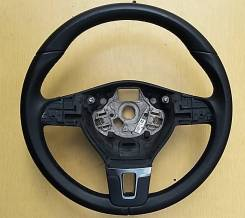 Рулевое колесо чёрное кожа Passat CC 3C8419091ANE74