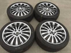 "245/40 255/40 R19 Dunlop литые диски 5х114.3 (K13-1901). 8.5/9.5x19"" 5x114.30 ET35/40"