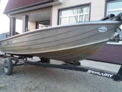 Продается алюминевая лодка Mercury
