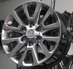 Новые диски R17 На Toyota Land Cruiser Prado Lexus Графит