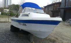 Yamaha Fish 17. 1995 год, длина 5,10м., двигатель подвесной, 1,00л.с., бензин