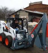 Новый навесной экскаватор на мини погрузчик в наличии в Москве