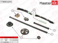 Комплект для замены цепи ГРМ MR20 со звездами. MasterKit (Италия)