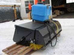 Новая дорожная щетка с поливом на мини погрузчик в санкт-петербурге