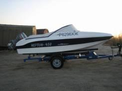 Лодка Нептун с мотором Yamaha