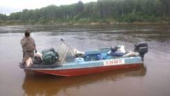Продам лодку Казанка 5М с мотором Меркурий 40