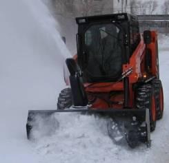 Новый снегоочиститель на мини-погрузчик