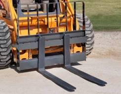 Новые грузовые вилы на мини-погрузчик в наличии недорого