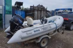 Продам моторную лодку риб Бриг 360