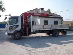 Бортовой грузовик с краном