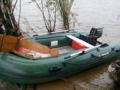 Продам лодку с мотором пвх амур 3,80 мотор цузуки 15