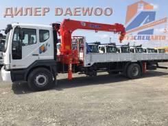 Daewoo Novus. 8 тонн DL-06 2018 года с КМУ Kanglim KS1256, 4x2