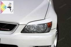 Реснички на фары для Toyota Altezza, Lexus IS200 Тойота Альтеза Лексу