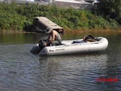 Резиновая лодка аква спаркс 3600 отс с двиг. вихрь 25.