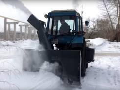 Новый снегоочиститель на трактор мтз