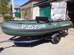 Надувная лодка solar 380