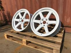 Volk Racing TE37 R18 9J 5x100 White Корея