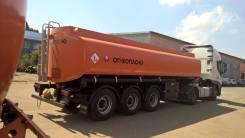 Капри. Цистерна бензовоз 29500 литров