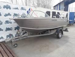 Лодка Алюминиевая Quintrex 475 Coast Runner + ПЛМ Suzuki DF60AT
