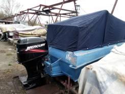 Продам лодку казанка 5М2 с мотором Mercury 50