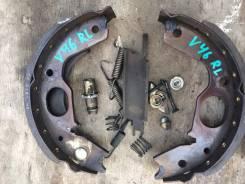 Механизм стояночного тормоза. Mitsubishi Pajero, V21C, V21W, V23C, V23W, V24C, V24V, V24W, V24WG, V25C, V25W, V26C, V26W, V26WG, V31V, V43W, V44W, V44...