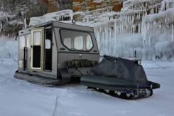 Катер ледовый плавающий кат для льда и снега