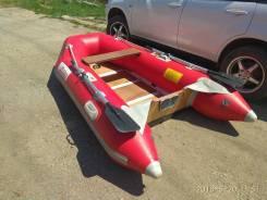 Продам моторную лодку южная корея б/у 18 000, гп=430 кг,