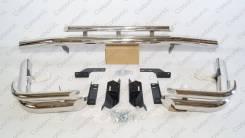 Защита заднего бампера (уголки) Land Cruiser 100/105