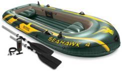 Четырехместная надувная лодка Intex 68351